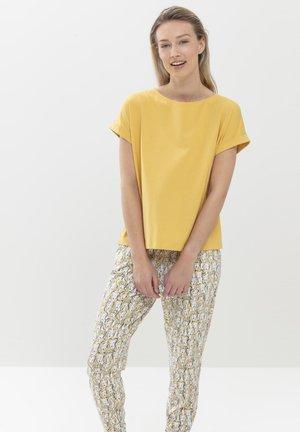 Basic T-shirt - goldenrod