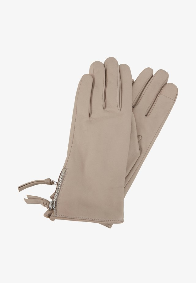 GROUND GLOVES TOUCH - Gants - sand