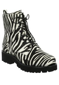 Tizian - BOSTON - Lace-up ankle boots - zebra - 2