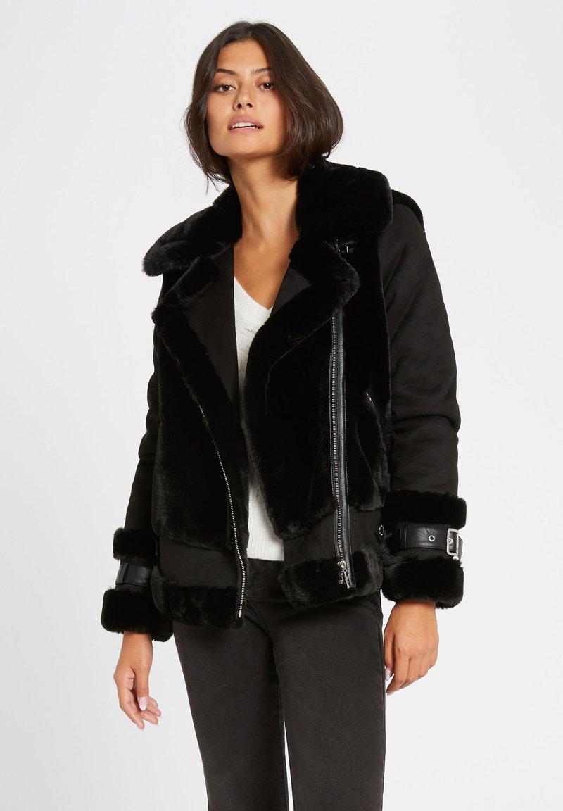 Morgan - Winter jacket - black