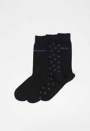 3 PACK UNISEX - Socks - black