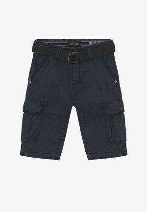 KIDS DURRAS - Pantalon cargo - navy