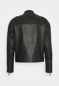 Just Cavalli - KABAN - Leather jacket - black - 1