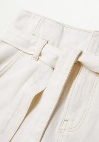 Mango - LIVE - A-line skirt - écru - 5