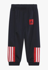 adidas Performance - SHINY TRACKSUIT BABY SET - Tuta - legend ink/vivid red/white - 2