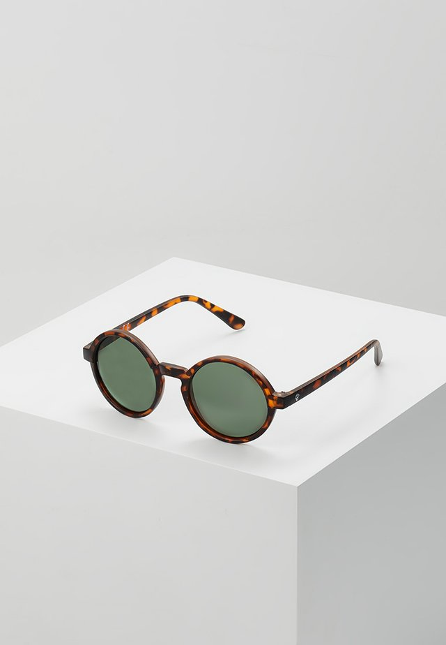 Occhiali da sole - turtle brown/green