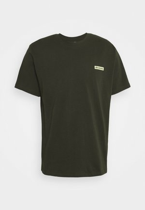 BOX TEE - T-shirt print - olive green
