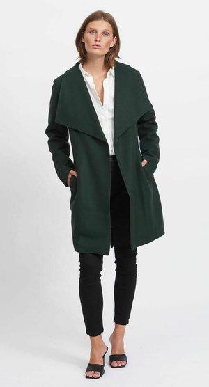 Classic coat - darkest spruce
