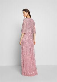 Maya Deluxe - FRONT CAPE SLEEVE DRESS - Abito da sera - pink - 2