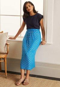 Boden - A-line skirt - marokkoblau paisleymuster - 2