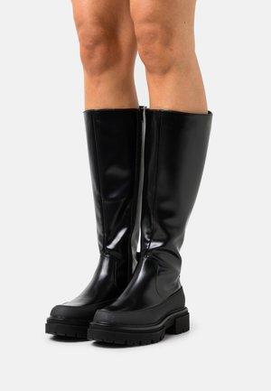 ONLTRINITY - Platåstøvler - black