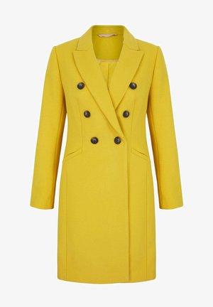 Classic coat - maisgelb