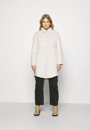 DOUBLE - Classic coat - ice