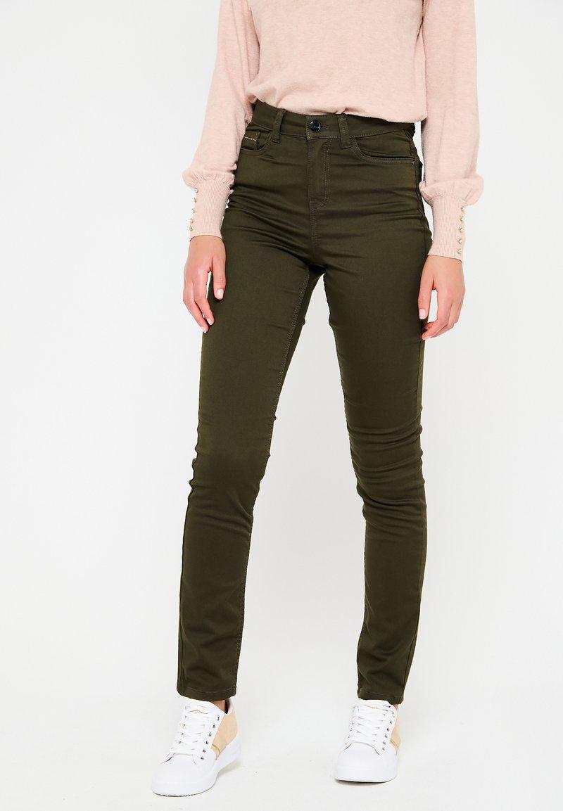 LolaLiza - WITH HIGH WAIST - Jeans Skinny Fit - khaki