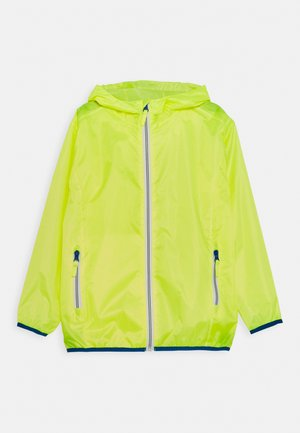 FALTBAR - Waterproof jacket - neongelb