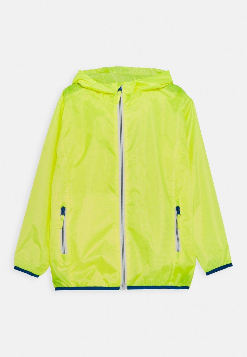 Playshoes - FALTBAR - Waterproof jacket - neongelb
