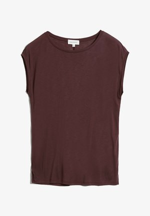 Basic T-shirt - aubergine