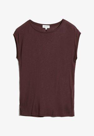 Basic T-shirt - aubergine