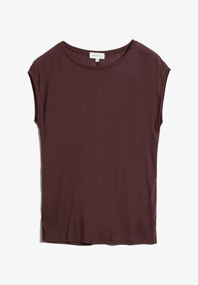 ARMEDANGELS - Basic T-shirt - aubergine