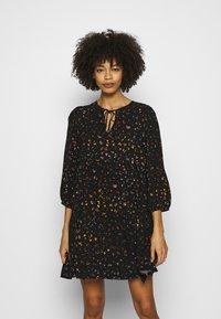 GAP - MINI TRAPEZE - Day dress - black - 0