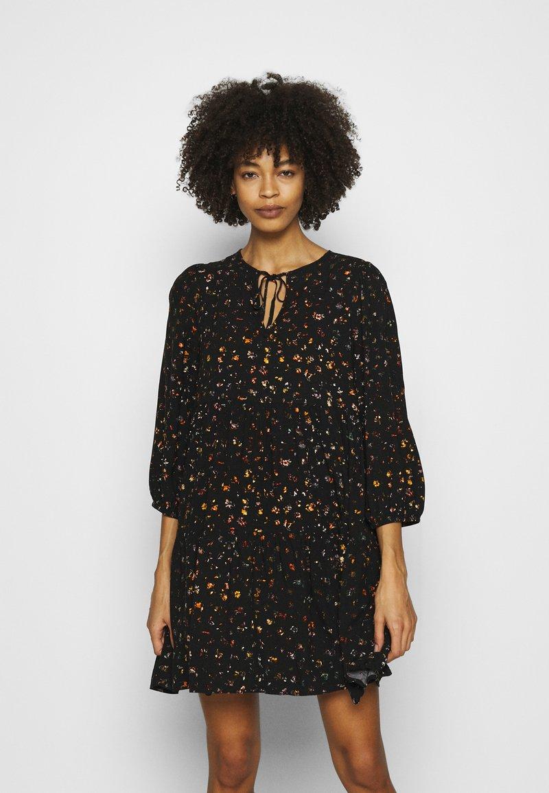 GAP - MINI TRAPEZE - Day dress - black