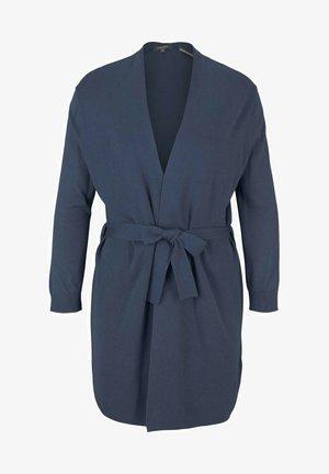 Cardigan - vintage indigo blue