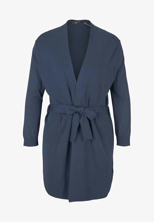 Vest - vintage indigo blue