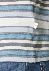 KnowledgeCotton Apparel - ALDER STRIPED TEE - Print T-shirt - asley blue - 6
