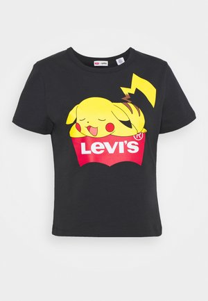 POKEMON WOMEN'S POKEMON TEE - T-shirt imprimé - caviar