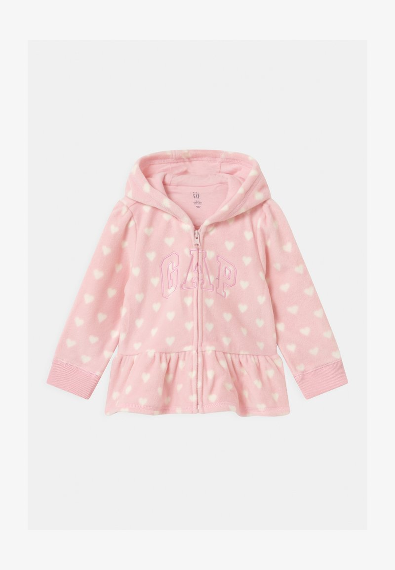 GAP - ARCH HOOD - Fleece jacket - pure pink