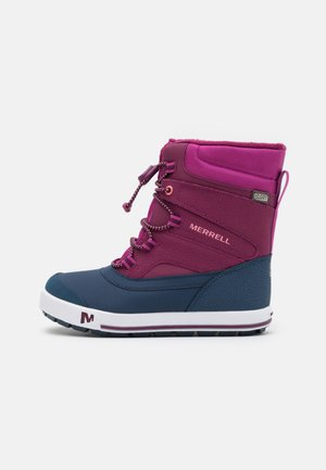 SNOW BANK 2.0 WTRPF UNISEX - Talvisaappaat - berry