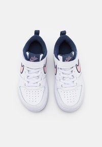 Nike Sportswear - COURT BOROUGH 2 SE1 UNISEX - Baskets basses - white/pink glaze/midnight navy - 3