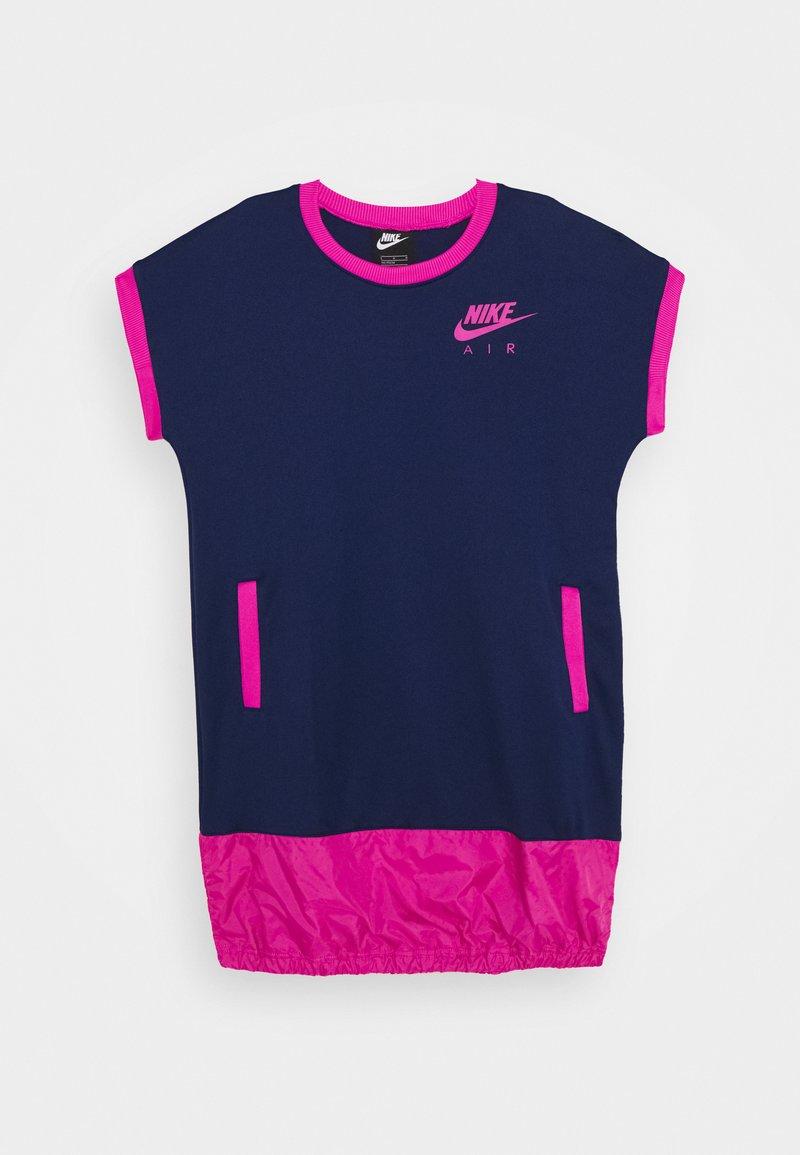 Nike Sportswear - AIR DRESS - Sukienka z dżerseju - blue void/active fuschia