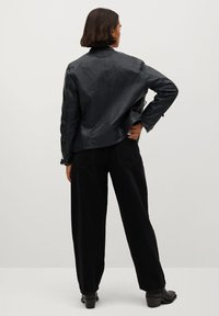 Violeta by Mango - CHELSEA7 - Leather jacket - dunkles marineblau - 2