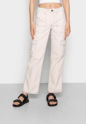 STITCH SKATE - Jeans relaxed fit - ecru