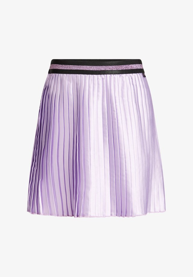 Plooirok - purple