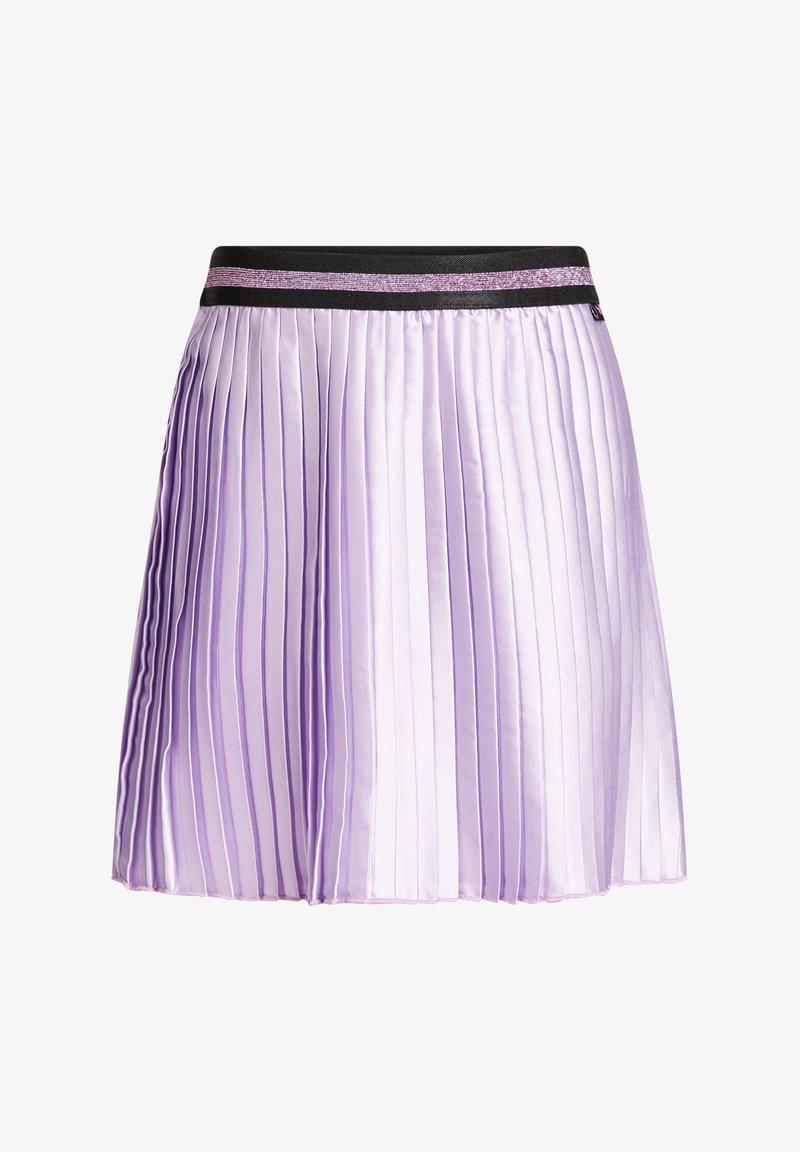 WE Fashion - Pleated skirt - purple