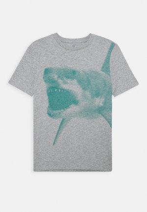 BOY TENTACLE - Print T-shirt - light heather grey