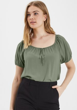 Blouse - sea green