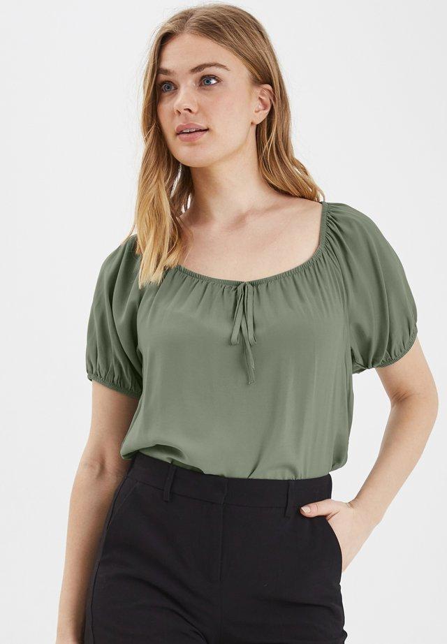 Blusa - sea green