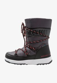 Moon Boot - BOY SPORT WP - Bottes de neige - black/castlerock - 1