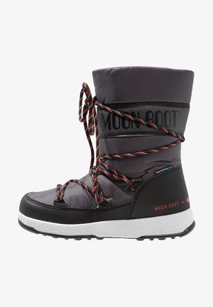 BOY SPORT WP - Snowboots  - black/castlerock