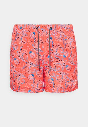 JJIBALI JJSWIM MIXED - Swimming shorts - hot coral