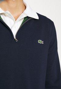 Lacoste - Stickad tröja - navy blue - 4