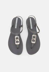 Ipanema - CLASS CHIC - T-bar sandals - dark grey/grey - 5