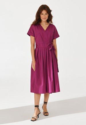 Day dress - plummy purple