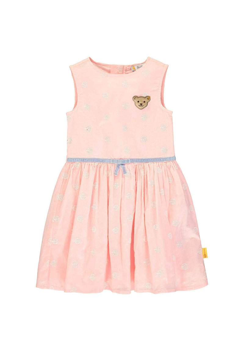 Steiff Collection - STEIFF COLLECTION KLEID MIT TEDDYBÄRMOTIV - Day dress - powder pink