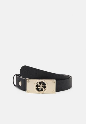 CARABEL ADJUSTABLE PANT BELT - Belt - black