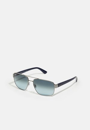Sunglasses - shiny blue