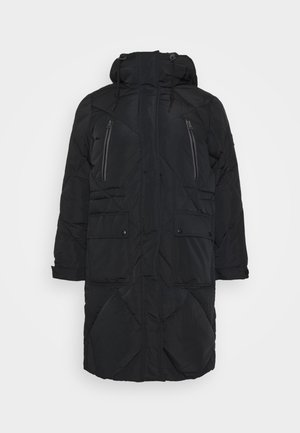 ELONGATED PUFFER - Klassinen takki - black